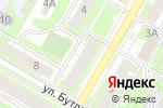 Схема проезда до компании Vip door в Дзержинске