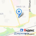 Московские окна на карте Дзержинска