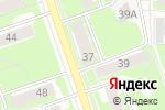 Схема проезда до компании Московские окна в Дзержинске