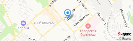 Суши WOK на карте Георгиевска