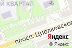 Схема проезда до компании Музыка сфер в Дзержинске