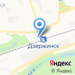 Теле2-Нижний Новгород на карте Дзержинска