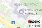Схема проезда до компании ДТК в Дзержинске