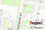 Схема проезда до компании Анастасия в Дзержинске