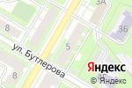 Схема проезда до компании Кега в Дзержинске