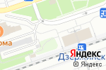 Схема проезда до компании Киоск по продаже цветов в Дзержинске