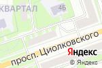 Схема проезда до компании ОнЛайн Трейд.ру в Дзержинске