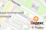 Схема проезда до компании Детская художественная школа в Дзержинске