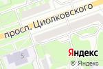Схема проезда до компании Банк Югра в Дзержинске