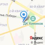 Центр художественных ремесел на карте Дзержинска