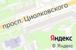 Схема проезда до компании ДОСТУПНЫЕ ОКНА в Дзержинске