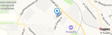 Фебу на карте Георгиевска