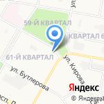 Магазин цветов и игрушек на карте Дзержинска