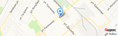 Гигея на карте Георгиевска
