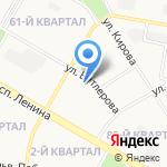 Детская художественная школа на карте Дзержинска