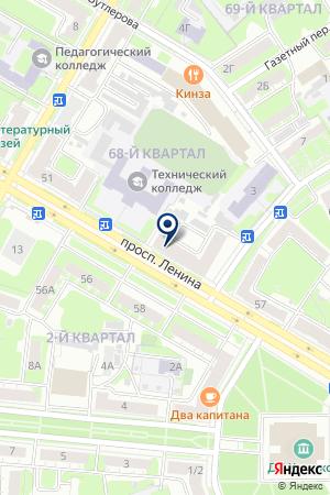 ТФ БЛЕЙД на карте Дзержинска