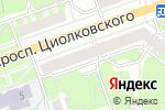 Схема проезда до компании Пласт Плюс в Дзержинске