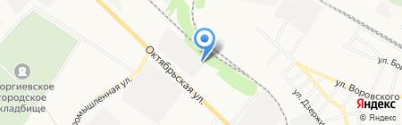 Мастер кровля на карте Георгиевска
