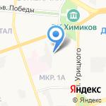 Инструментальные решения на карте Дзержинска