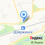 Связной на карте Дзержинска