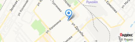 Георгиевский техникум механизации на карте Георгиевска
