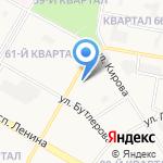 Горожане на карте Дзержинска