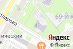 Схема проезда до компании Эколого-биологический центр детей в Дзержинске