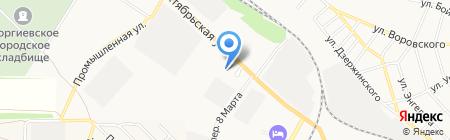 Управление Пенсионного Фонда РФ по г. Георгиевску и Георгиевскому району на карте Георгиевска