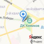Кенгуренок на карте Дзержинска