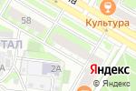 Схема проезда до компании Нотариус Пересыпина Т.А. в Дзержинске