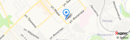 Марта на карте Георгиевска