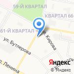 Студия праздника на карте Дзержинска