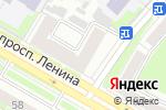 Схема проезда до компании Колибри в Дзержинске