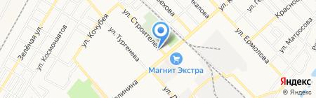 Афина на карте Георгиевска