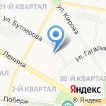Вокбанк на карте Дзержинска