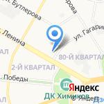 Seven на карте Дзержинска