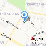 Детский сад №100 на карте Дзержинска