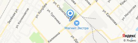 Акварель на карте Георгиевска