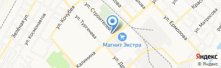 Мастерская мебели на карте Георгиевска