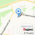 Специальная (коррекционная) начальная школа-детский сад №144 для детей с ослабленным зрением на карте Дзержинска