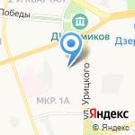 Детский сад №116 на карте Дзержинска