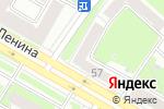 Схема проезда до компании Стрекоза в Дзержинске