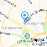 Оптика Нижегородская на карте Дзержинска