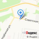 Успех-1 на карте Дзержинска