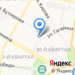 Средняя общеобразовательная школа №2 на карте Дзержинска