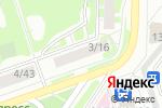 Схема проезда до компании Массив+ в Дзержинске