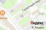 Схема проезда до компании Элит Оценка в Дзержинске