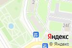 Схема проезда до компании Веснушка в Дзержинске