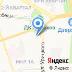 Руслан на карте Дзержинска