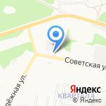 Катран на карте Дзержинска